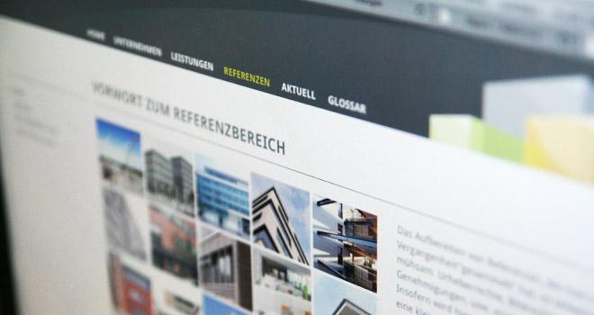 Immobilienmarketing und Webdesign: Homepage von BerloReal