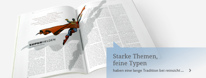 Editorial Design bei reinsicht