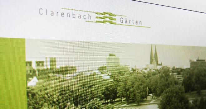 Webdesign: Website Clarenbachgärten