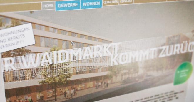 Webdesign: Website Fay Waidmarkt