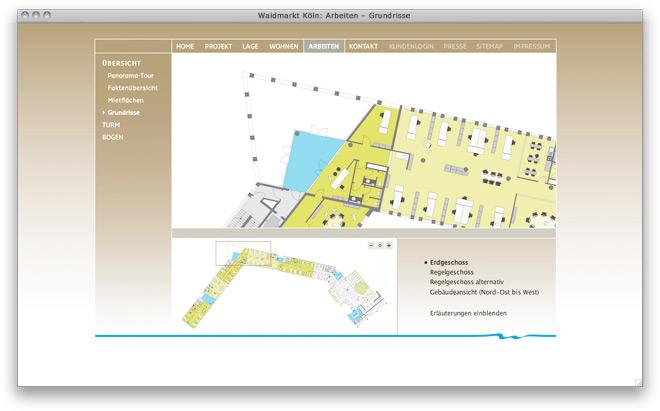 Website Fay Waidmarkt