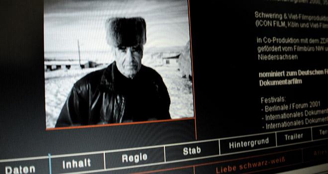 Webdesign: Icon Film Webseite