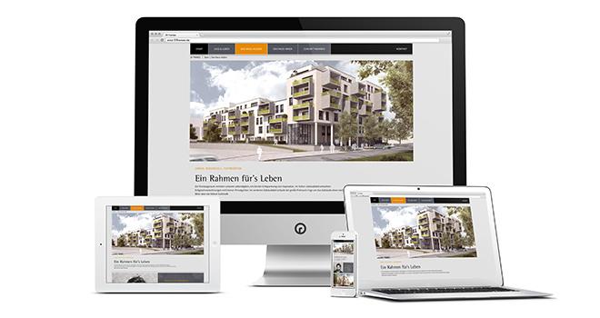 Immobilienmarketing im Web: 55 Frames