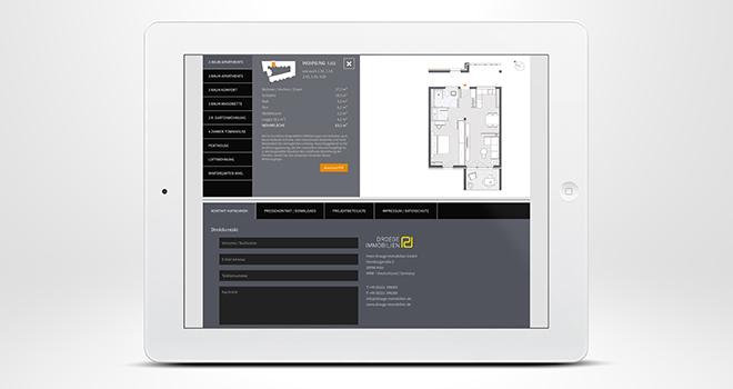 Immobilienmarketing im Web: Die Grundriss-Auswahl