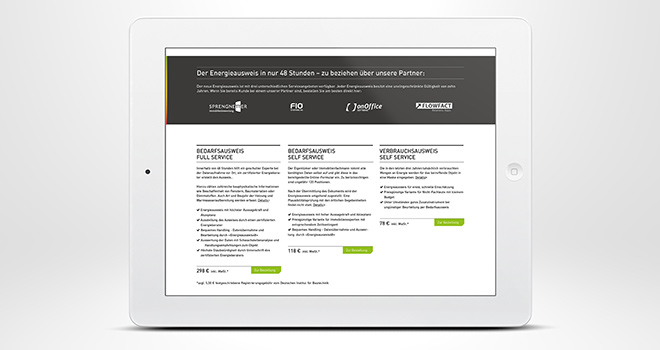 Responsive Web Design: Flowfact AG / Energieausweis 48 - tablet