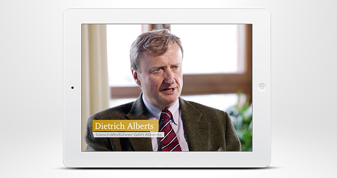 Imagefilm »Aufbruch 2015« - Haus Nordhelle - Testimonial