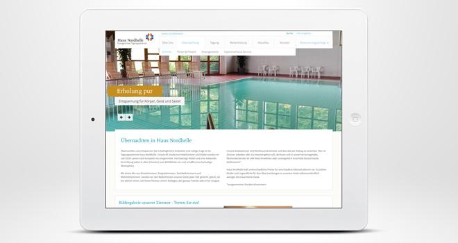 Responsive Website: Haus Nordhelle - Freizeit