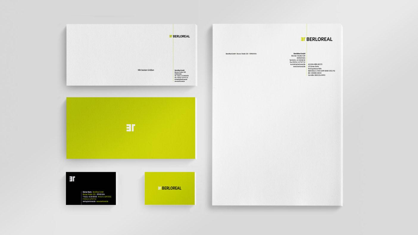 Logodesign für Kölner Immobiliendienstleister