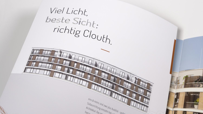 Exposé für Wohnimmobilie auf dem Kölner Clouth-Areal