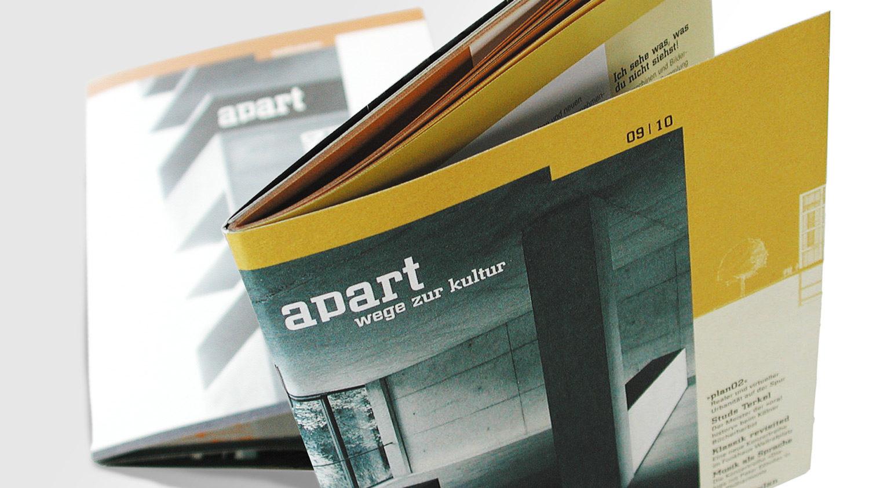 Editorial Design: Die Zeitschrift Apart
