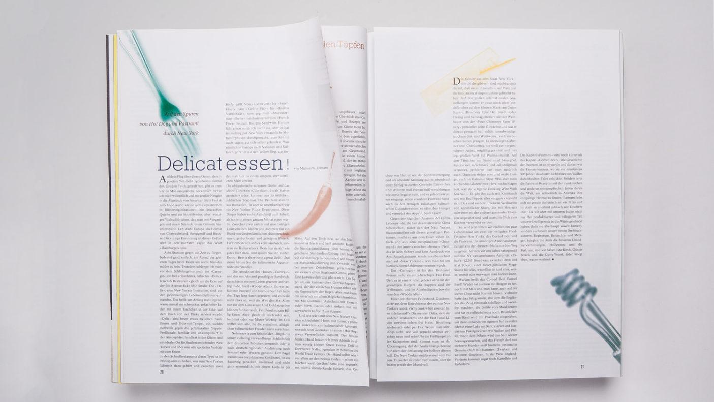 Magazingestaltung: Foglio Kulturmagazin Köln