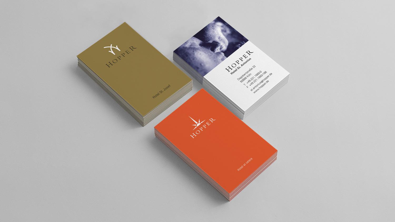 Corporate Design für Kölner Designhotels