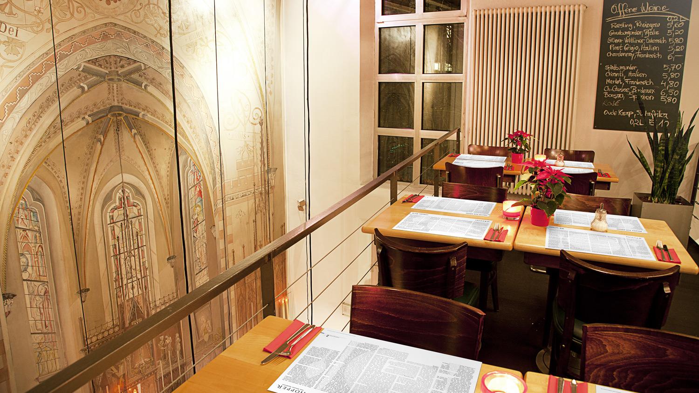 Tischsets und Getränkekarten für die Hopper-Gastronomie