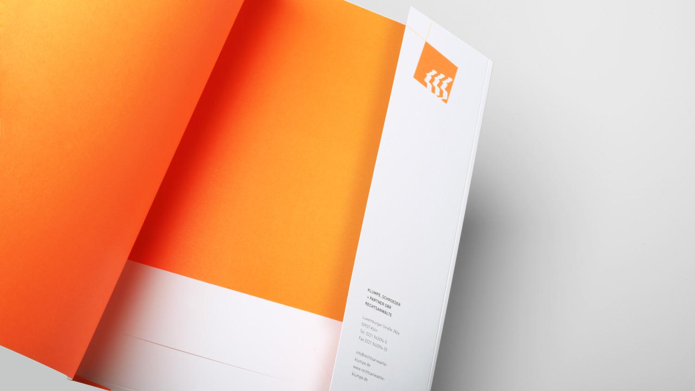 Logoentwicklung und Corporate Design für Kölner Anwaltskanzlei