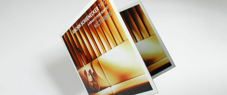 Grafische Realisation Musikalbum/Digipack Joachim Schoenecker