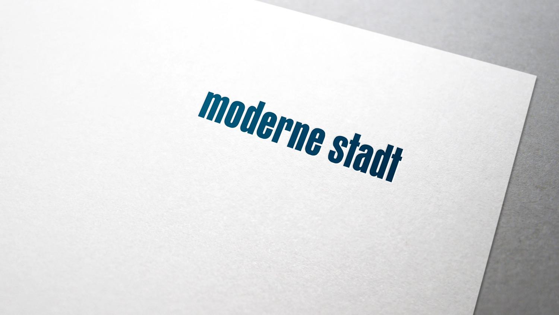 Corporate Redesign für die »moderne stadt« – Briefbogen