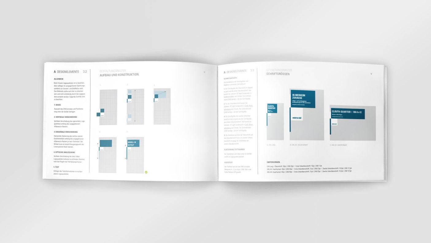 Corporate Redesign für die »moderne stadt« – Design Manual Detail