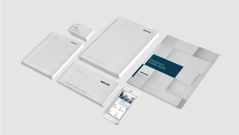 Corporate Redesign für die »moderne stadt« – die Ausstattung