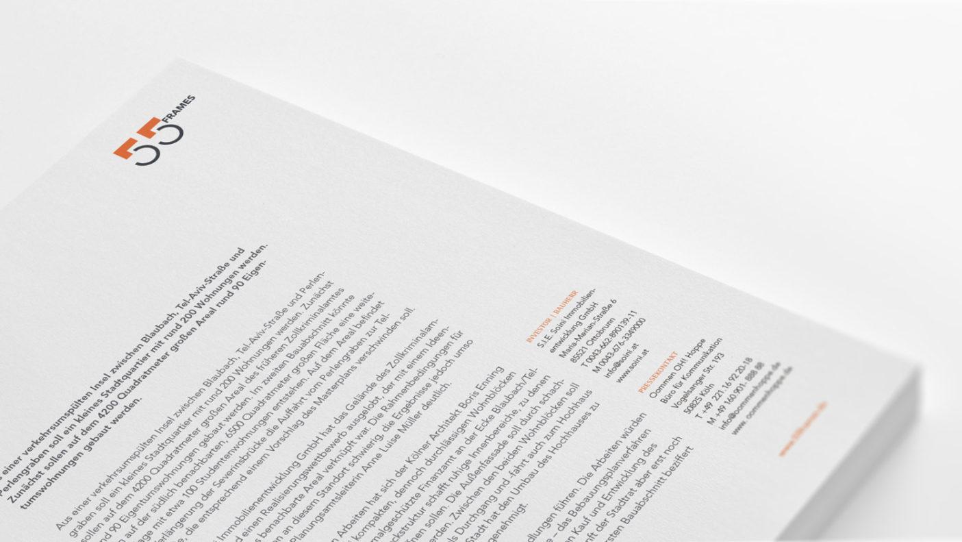 Brand Name & Corporate Design für Wohnprojekt im Zentrum