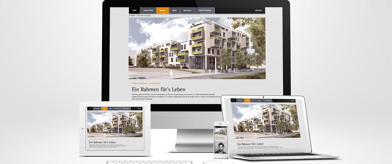 Webentwicklung und Webdesign am Beispiel der 55Frames aus Köln