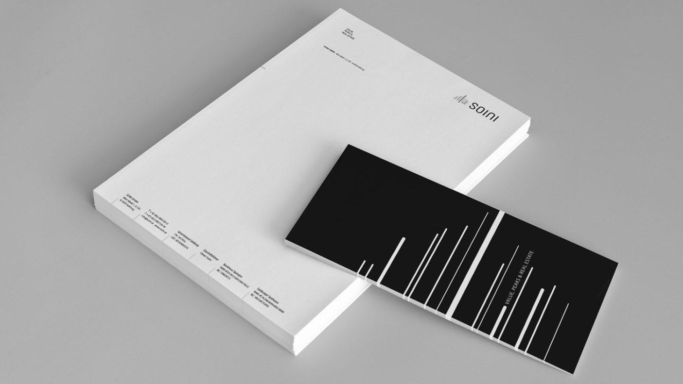 Für klare Botschaften: Briefbogen und Grußkarte