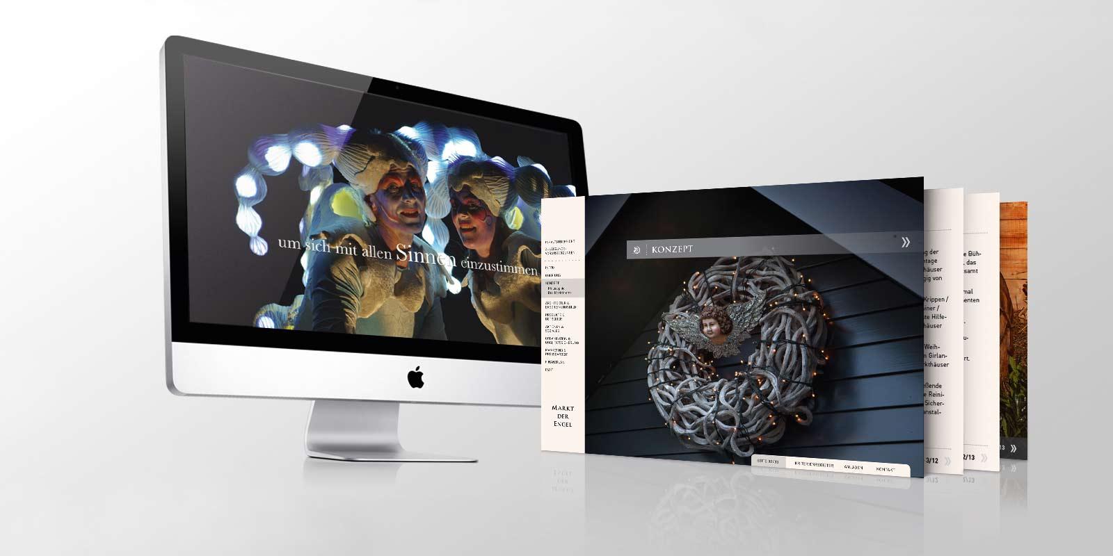 Ein wunderschönes Marketing Kommunikation Projekt: reinsicht gestaltete diese Medien samt Imagefilm.