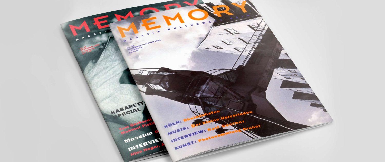 Editorial Design: Kulturzeitschrift Memory