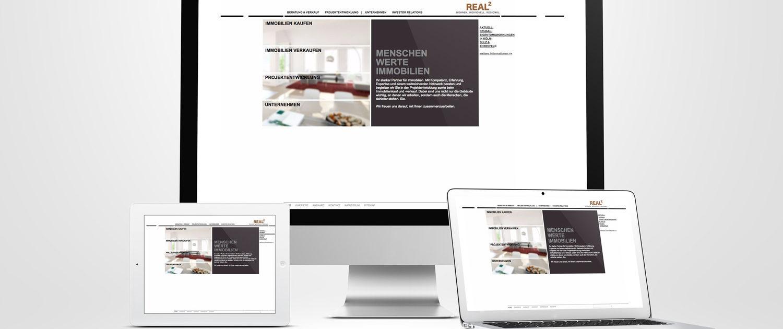 Beratung und Programmierung Website Relaunch Realquadrat