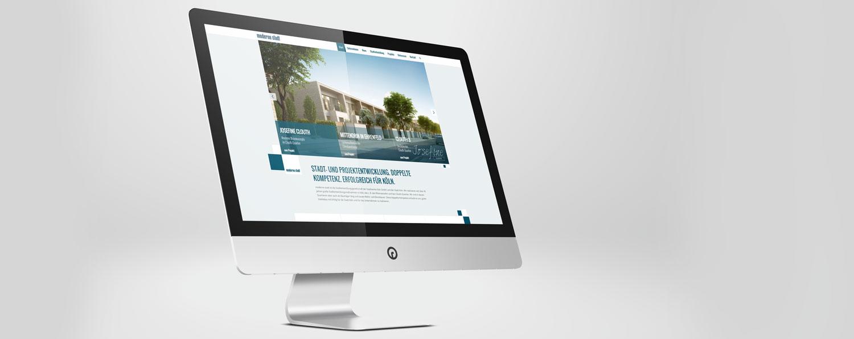 Web Design und Webentwicklung Köln moderne stadt